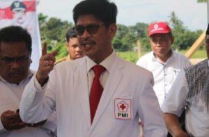 Ketua PMI Sulsel Ichsan Yasin Limpo