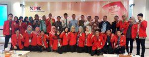 21 mahasiswa fakultas hukum unhas yang KKN di KPK